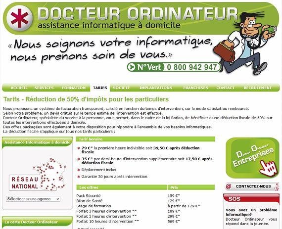 prix docteur ordinateur